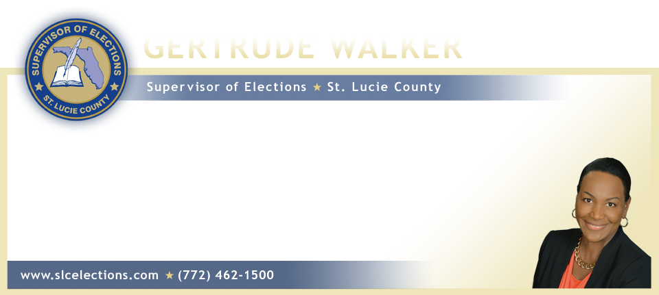 St. Lucie County Supervisor of Elections logo